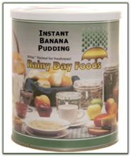 Instant Banana Pudding #2.5 can