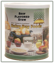 Beef Flavored Stew #10 can