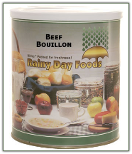 Beef Bouillon #10 can