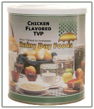Chicken Flavored TVP #10 can