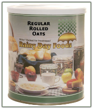 Regular Rolled Oats #10 can