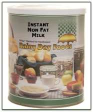 Instant Non Fat Milk #2.5 can
