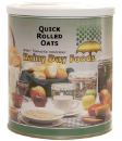 Quick Rolled Oats #10 can