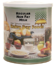 Regular Non Fat Milk #10 can