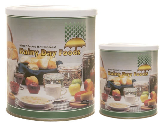 Dehydrated Food Storage - #10 and #2.5 cans